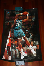 1993 Vintage Alonzo Mourning NIKE  poster basketball NBA VERY RARE
