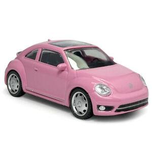 1:43 VW Beetle Model Car Metal Diecast Gift Toy Vehicle Kids Collection Pink