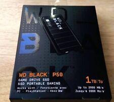 1TB WD BLACK P50 Game Drive SSD USB 3.2 Gen 2x2 PS4 XBox One