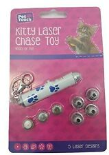 New Interactive Cat/Dog Laser Pointer Play Toy with 5 Laser Diffrent Designs