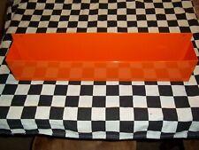 "New 16"" Orange Workbench Wall Mount Aerosol Spray Paint Can Holder Organizer"