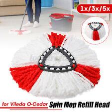 3x Replacement Microfibre Spin Mop Clean Refill Head for ViledaO-Cedar  i