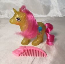 "Rare Vintage G1 My Little Pony MLP ""Baby Gusty"" Sparkle Unicorn w/ COMB 1984"