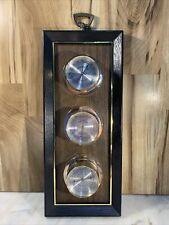Vintage Barometer, Thermometer, Humidity Meter