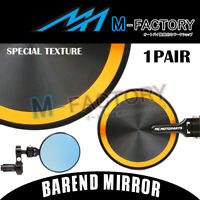 Gold 2017 CNC Folding Bar End Mirrors Fit Yamaha MT-09 FZ-09 13 14 15 16 17 18