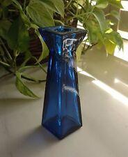 Glass Bud Vase Candle Holder - ROYAL COBALT BLUE Color - Versatile