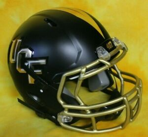 UCF Knights super custom fullsize football helmet Lg Riddell Speed black helmet