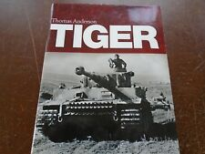 Tiger by Thomas Anderson (English) Hardcover Book VG