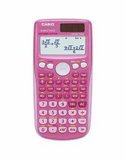 Casio Scientific Calculator FX-85GT Plus Pink Colour, School, A Level, College