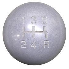 Heavy Weight Composite Gray 5 Speed Shift Knob M10x1.25 threads U.S MADE