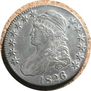 elf Bust Half Dollar 1826