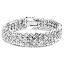 2CTW Diamond Multi Row Bracelet