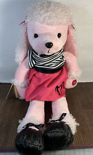 Chantilly Lane Fifi Poodle In Poodle Skirt - Non-working - for display only