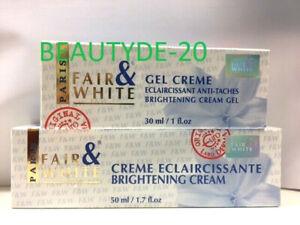 Fair and White Eclaircissante Brightening Cream OR Cream Gel-Free UK Post!!!!!!!