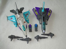 Transformers G1 Powermaster Dreadwind and Darkwing complete