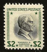 US #833 MNH 1938 $2 Prexy