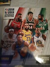 NBA Basketball Panini 2018 2019 Sticker Collection Album 70% completed