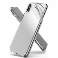 For iPhone Xs Max Xr X 8 7 6S 6 Plus Shockproof Clear  Soft TPU Case Covers UK