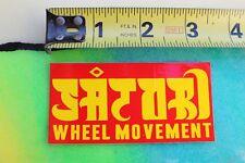 Satori Wheels Ipath Rasta Reggae Skateboards Z3 Vintage Skateboarding STICKER