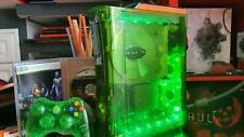 Xbox 360 Elite Halo 3 Transparente led 20gb