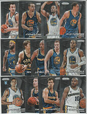 2014-15 GOLDEN STATE WARRIORS 13 Card PANINI PRIZM TEAM SET 2015 NBA Champions