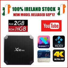 X96 Mini 2GB RAM 16GB ROM 4K WiFi Smart Android 7.1 TV Media Kodi Box Player