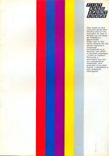 Fiat 850 Sport Coupe Series 2 Spanish market original colour sales brochure