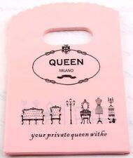 50pcs Pretty Pattern Plastic Shopping/Gift Small Packing Bag15x9cm