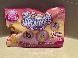 Squinkies Disney Princess BELLE Colors/styles vary 2 random in foil pack