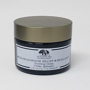 New Authentic Origins Mega Mushroom Relief & Resilience Soothing Cream 1oz 30ml