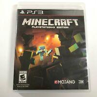 Minecraft PlayStation 3 Edition (Sony PlayStation 3 PS3) Mojang