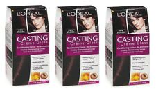 3 x LOREAL CASTING CREME GLOSS HAIR COLOUR 262 BLACK CURRANT 100% Brand New