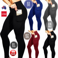 Women's Leggings High Waisted with pocket New Gym Yoga  Fitness Ladies  pants