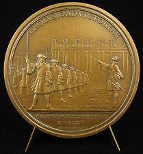 Médaille Prolusio ad victorias 1565 refrappe c1985 Gardes de Versailles medal