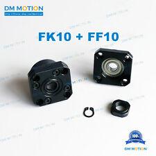 FK/FF10 Ball screw end support (FK10 + FF10 each 1Pcs)  for DIY CNC Part SFU1204