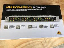 NEW Behringer Multicom PRO-XL 4 Channel Expander Gate Compressor Limiter