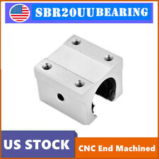 1pcs Sbr20uu Bearing 20mm Open Linear Motion Bearing Slide Unit For Linear Rail