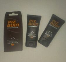 Piz Buin Mountain SPF 30 3 x 40ml Very High Sun Cold & Wind Protection 120ml!!!