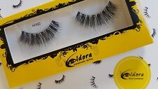 Eldora False Eyelashes H160 Human Hair Strip Lashes