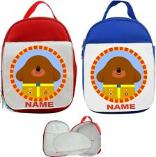Hey Duggee #2 Personalised Childs Lunch Bag