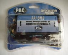 PAC AAI-GM9 Select GM Auxiliary Audio Input ipod MP3 Aux Input 9-Pin Chevy GMC