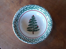 """Furio Italy CHRISTMAS TREE FUO5 Soup Cereal Bowls 8 1/4"""" 1 ea      8 available"""