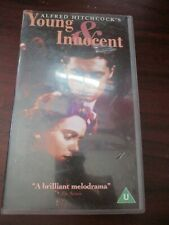 Hitchcock Young and Innocent   VHS Video Tape (NEW )