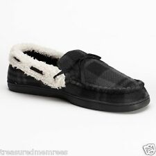 Urban Pipeline Gray Plaid Indoor/Outdoor Slippers ~ Size Large ~ NWT