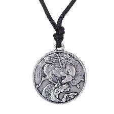 Pegasus and Unicorn Necklace Women Gothic Men Jewelry Supernatural Irish Amulet
