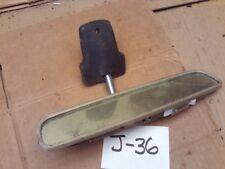 1968 1970 1972 CHEVELLE MALIBU GTO LEMANS REAR VIEW MIRROR W/MAP LIGHT INTERIOR
