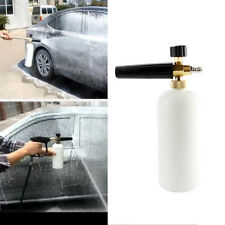 "1/4"" Adjustable Snow Foam Lance Cannon Washer Bottle Pressure Car Wash Gun Pro"