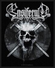 """Ensiferum """" Skull """" Patch/Aufnäher 602570 #"""