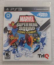 Marvel Super Hero Squad Comic Combat UDraw Video Game Playstation 3 PS3