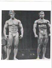 bodybuilder TOM PLATZ/Ron Teufel at Mr Universe Bodybuilding Muscle Photo B+W